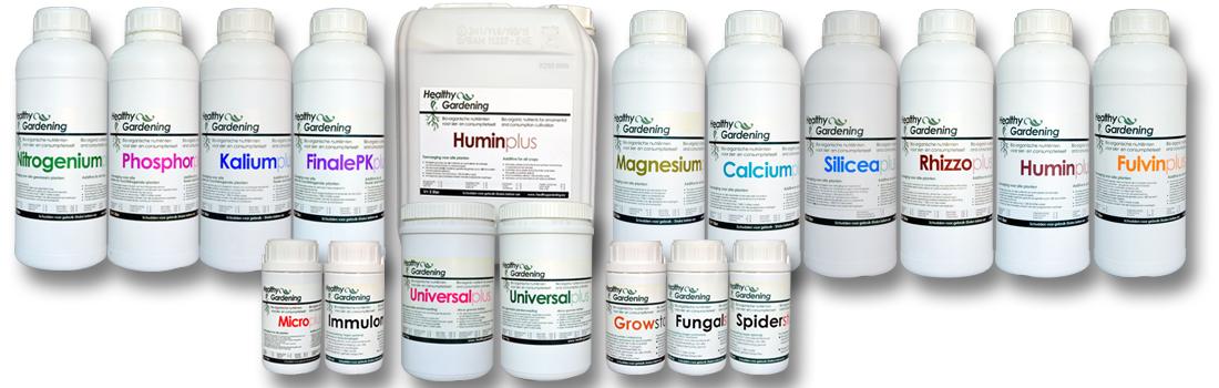 Healthygardening - Organo Minerale plantvoeding